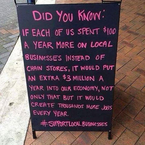 Support Local Buisiness