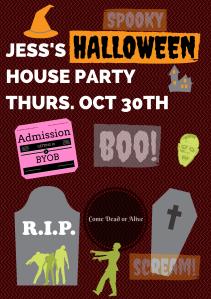Jess's Halloween PartyOct