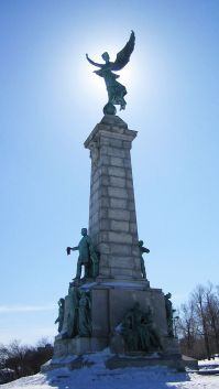 Sir George Etienne Cartier Monument in Mount Royal Park