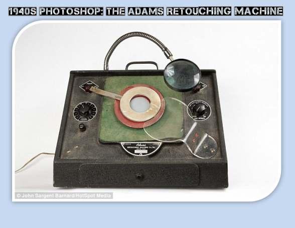 Adams Retouching Machine