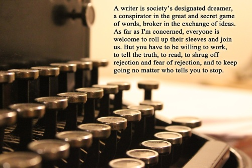 writing image and quote