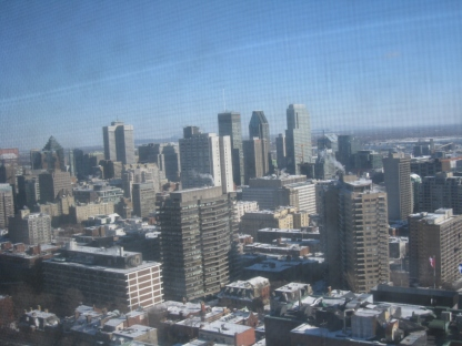 Mtl from the 18th floor