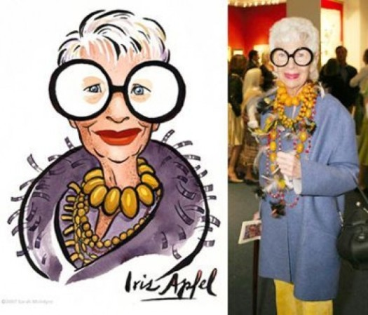 Iris Apfel loves bold fashion