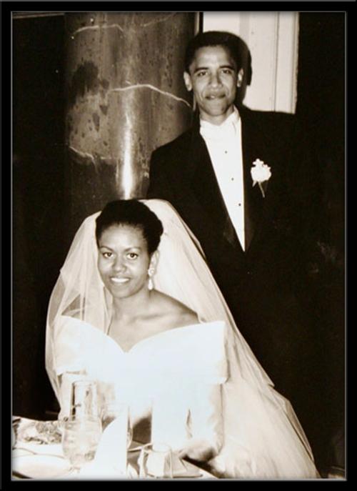 President Obama's Wedding Photo