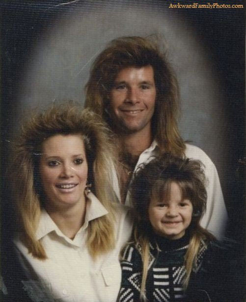 Strange Family Photos