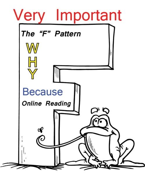 """F"" pattern"