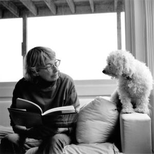 Mary Oliver and Percy Photo