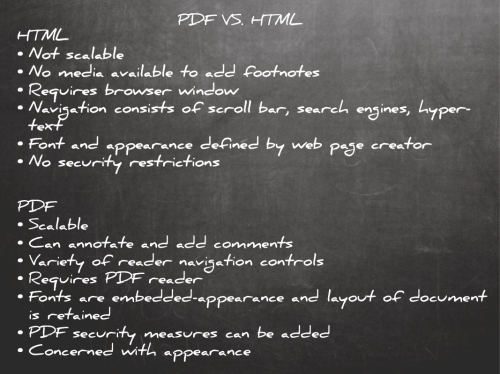 HTML to PDF Chalk board2